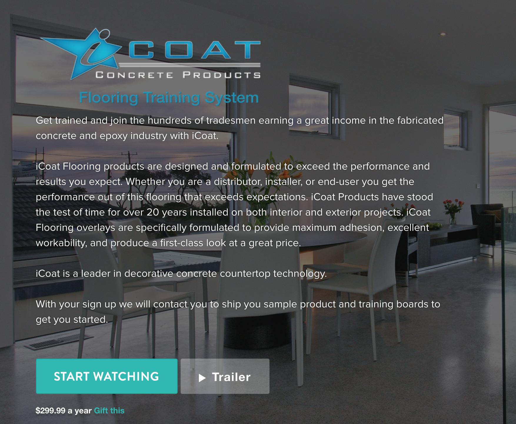 iCoat Epoxy Flooring