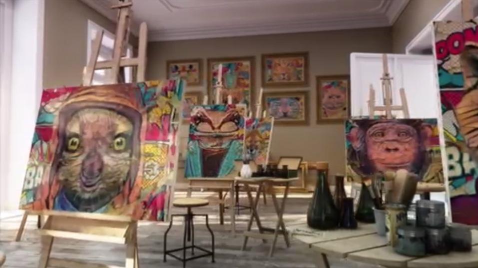Rain Forest NFT Gallery