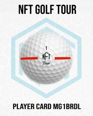 NFT Golf Tour Player Card